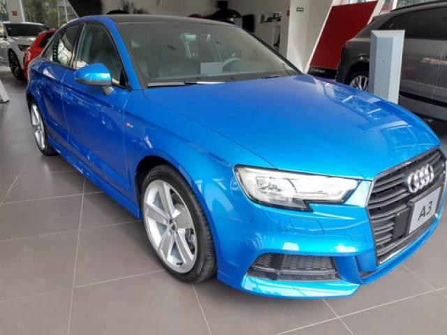Audi A3 2.0 Sedán L S Line At Dsg 2020 dirección eléctrica azul BenitoJuárez
